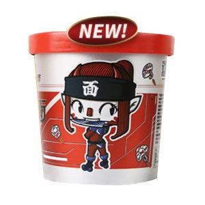 SHIZUREN/食族人 椒香面 6971807591098 205g×6桶 1箱