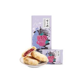 LIZIQI/李子柒 李子柒朝花柒拾鲜花饼 6971558610505 40g×10袋 1盒