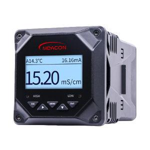 SUPMEA/美仪 电导率仪 EC6.0 量程0~2000/20000μs/cm AC220V供电 输出4~20mA+RS485 2路常开继电器报警 中文/英文显示 开孔尺寸92×92mm 1台