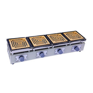 TAISITE/泰斯特 实验电炉/万用电炉(刻度调压型) DK-98-Ⅱ四联 1台