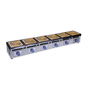 TAISITE/泰斯特 实验电炉/万用电炉(刻度调压型) DK-98-Ⅱ六联 1台