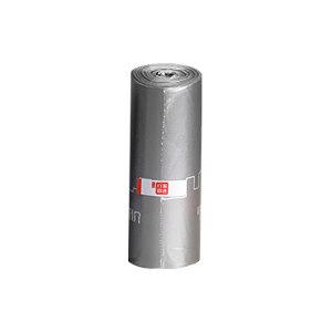 H SELECTION/震坤行家精选 高性能平口式垃圾袋3卷装 ZKH003 45×50cm 单面1丝厚 品质灰 30只×3卷 1袋