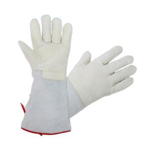 JIAHU/佳护 低温防液氮防冻手套 JH-yd01 本色 长度36cm一双 1双