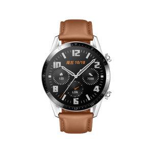 HUAWEI/华为 手表WATCH GT 2-46mm-时尚版 6901443320226 砂砾棕 尺寸45.9×45.9×10.7mm 约41g(不含表带) 电池容量455mAh 1个