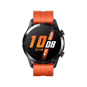 HUAWEI/华为 手表WATCH GT 2-46mm-运动版 6901443320219 赤霞橙 尺寸45.9×45.9×10.7mm 约41g(不含表带) 电池容量455mAh 1个