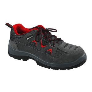 HONEYWELL/霍尼韦尔 TRIPPER系列低帮翻毛皮安全鞋 SP2010511 42码 红色 防砸防静电 1双