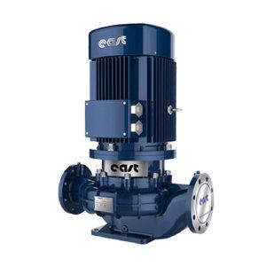EAST/东方泵业 立式管道离心泵 DFG50-200(Ⅰ)B/2 额定流量20m3/h 额定扬程38m 5.5kW 380V 铸铁 1台