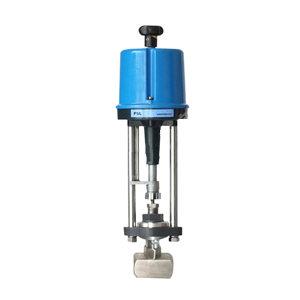 JVL/巨良 不锈钢电动小流量调节阀 ZDLY-64PB DN15 法兰连接接口 公称压力64bar 1台