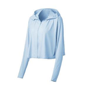 BANANAUNDER/蕉下 冰薄系列披肩防晒服 4895235700612 风靛蓝 1件