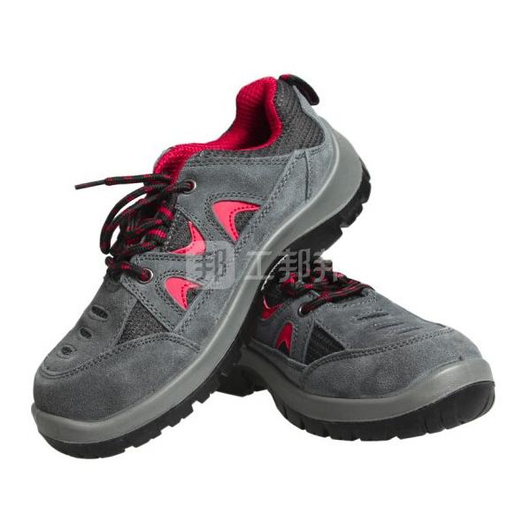 HONEYWELL/霍尼韦尔 TRIPPER系列低帮翻毛皮安全鞋 SP2010512 42码 红色 防砸防静电防刺穿 1双