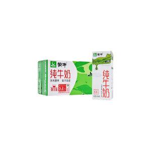 MENGNIU/蒙牛 纯牛奶纷美苗条装(尊享装) 6923644286316 200mL×24盒 1箱