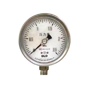 BLD/布莱迪 不锈钢压力表 YTH-100.AO.531.M220.M20(禁油) 精度等级1.0级 1个