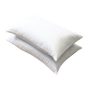 SHIDE/实德 白色枕头白色 12436524 尺寸45×75cm 面料40s×40s/110×90/平纹/漂白 内填充全荞麦3500g 1个