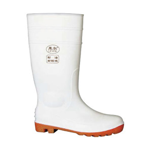 LEVER/莱尔 PVC白色卫生靴 SF-11-03 43码 1双