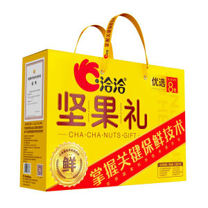 QQ/洽洽 坚果礼-优选 199893 1.28kg 1盒