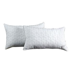 AIMEILI/爱美礼 菱形绗缝枕芯 AML-Z03 48×74cm 无纺布 100%聚酯纤维填充物 1套