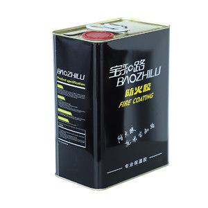BAOZHILU/宝知路 橡塑专用胶 F860防火胶 4L 净重3kg 1桶