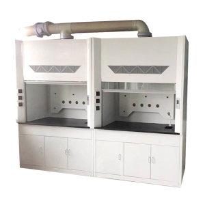 XINKD/鑫科达 玻璃钢通风柜 XKD-089 1200×800×2350mm 20mm厚专用陶瓷台面 30W防爆灯1个+电动风阀1个+1套小水杯及单口龙头 下柜带双锁 1套