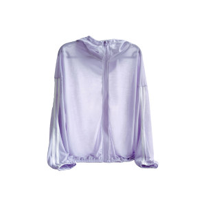 QINGHUA/轻画 艾草防蚊防晒衣 DL2068008 浅紫色 L码 1件