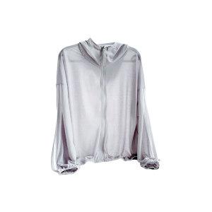 QINGHUA/轻画 艾草防蚊防晒衣 DL2068012 银灰色 L码 1件