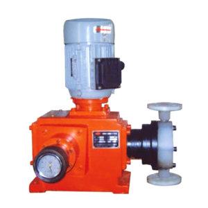 CSCG/常熟晨光 JX系列机械隔膜式计量泵 JXJM-800L/0.1MPa 防爆电机 最大流量1000L/h 进出口口径DN16 最大工作压力1bar PVC泵头 750W 1台