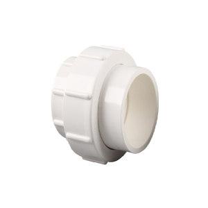 YUCHENG/禹成 PVC活接 4分 20mm 白色 1个