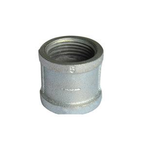LX/隆祥 管箍 DN50 100g 热镀锌 银色 57×3mm 1个