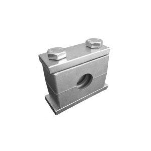 RQ/瑞祺 管夹 25 重型 适用25mm 银色 1个