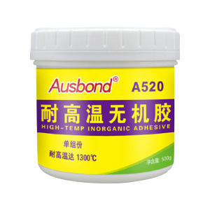 AUSBOND/奥斯邦 无机胶 520灰白色 500g 1瓶