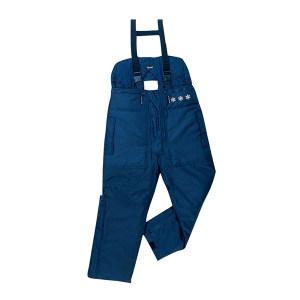 DELTA/代尔塔 涤纶牛津布极低温防寒背带裤 405001 XL 藏青色(BM) 1件