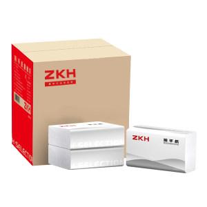 H SELECTION/震坤行家精选 擦手纸 ZKH022 225×220mm 200抽×20包 单层 1箱