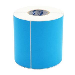 KANKUN 蓝色铜版纸标签 45×55mm 76管芯 2000pcs 1卷
