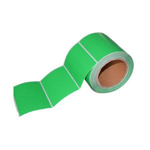 KANKUN 绿色铜版纸标签 45×55m 76管芯 2000pcs 1卷