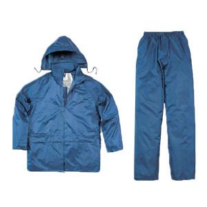 DELTA/代尔塔 EN400分体式涤纶雨衣套装 407003 XL 藏青色(MA) 1件