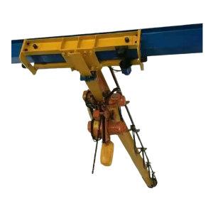 HSQZ/蒿氏起重 电动悬挂起重机 LX1t-5.01m 额定载荷1t 跨度5.01m 起吊高度4.5m 框架长度16.5m 1台
