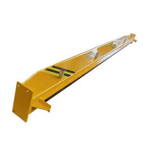 HSQZ/蒿氏起重 悬挂起重机工字钢轨道 28#工字钢 适用于LX1t-5.01m/LX1t-6.4m Q235材质 高280mm 宽125mm  45m 1根