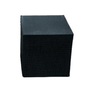 TSHUN/天顺 蜂窝活性炭 防水型100*100*100*1.5mm  碘值400 1000块每立方米 1立方米
