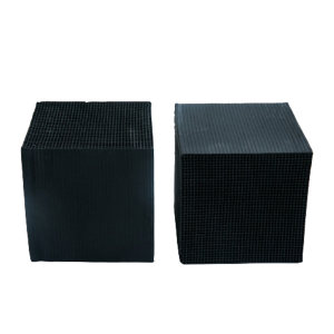 TSHUN/天顺 蜂窝活性炭 防水型100*100*100*3mm  碘值400 1000块每立方米 1立方米