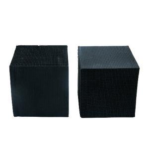 TSHUN/天顺 蜂窝活性炭 不防水100*100*100*1.5mm  碘值800 1000块每立方米 1立方米