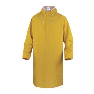 DELTA/代尔塔 涤纶风衣版连体雨衣 407005 2XL 黄色(JA) 1件