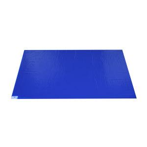 "RH/瑞恒 粘尘垫 1601-00001 18×36""(45×90cm) 蓝色 中高粘 10本 1盒"