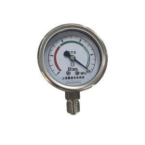 HAM/汉木 乙炔压力表 Y60B 0~1.6MPa(乙炔禁油) M14×1.5 表盘φ60mm 乙炔接头不能为铜 1个