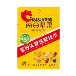 QQ/洽洽 小黄袋每日坚果(营养餐) 160216 16g 1袋