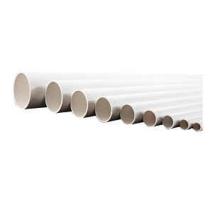 YUCHENG/禹成 PVC管 50 DN50×4mm×1m 白色 1米