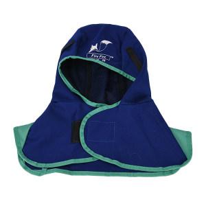 WELDAS/威特仕 蓝色全护式焊帽 23-6680 帽檐长度38cm 1个