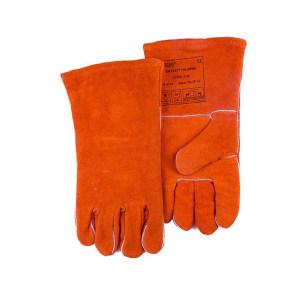 WELDAS/威特仕 锈橙色斜拇指焊接手套 10-2101 L 34cm 1副