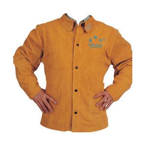 WELDAS/威特仕 金黄色皮上身焊工服 44-2130 XL 1件