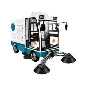 ABRAM/亚伯兰 大型四轮驾驶式扫地车 YBL-2200(报备机型) 48V 清洁效率18900m²/h 清扫宽度220cm 1辆