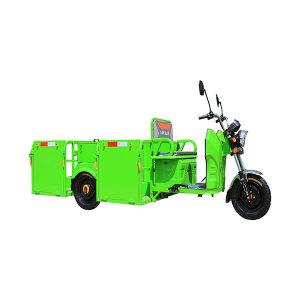 ABRAM/亚伯兰 电动三轮铁箱四桶车(配4个240L垃圾桶) YBL-240C4D(报备机型) 3370×1290×1140mm 1辆