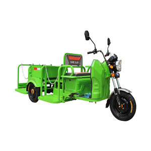 ABRAM/亚伯兰 电动三轮铁箱四桶车(配4个240L垃圾桶) YBL-240C4E(报备机型) 3370×1200×1130mm 1辆